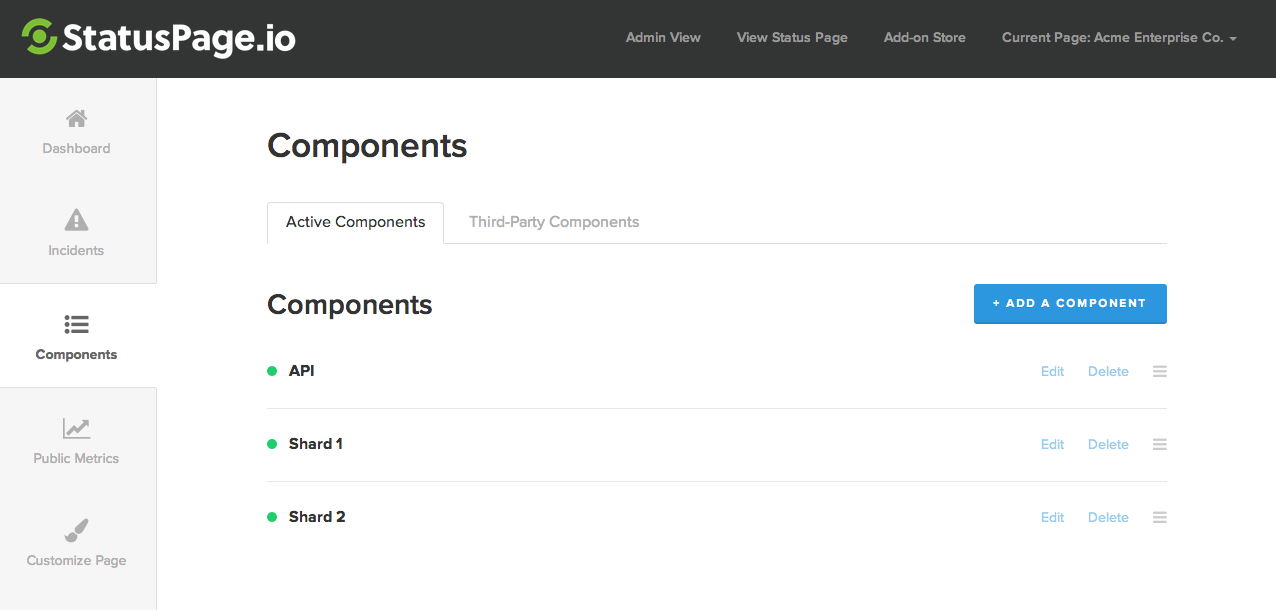 Create Components