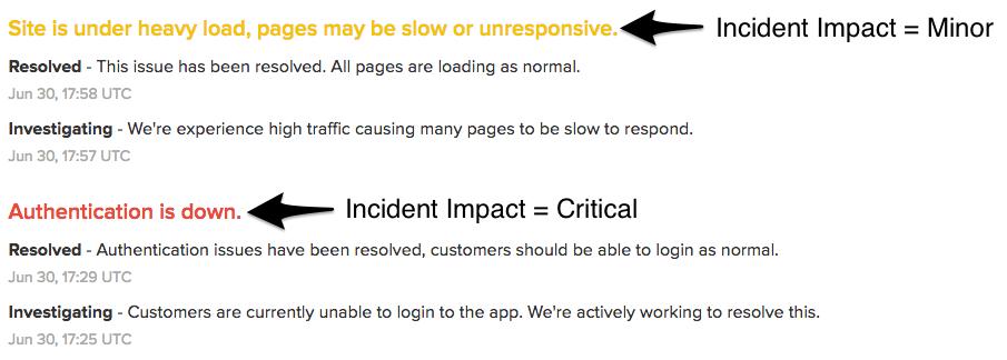 incident impact